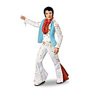 The Ashton-Drake Galleries Elvis Aloha From Hawaii Fashion Doll With A Replica Of The 1973 Eagle Jumpsuit at Sears.com