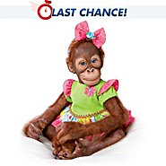 The Ashton Drake Galleries Simon Laurens Mollie the Orangutan Toddler Doll at Sears.com