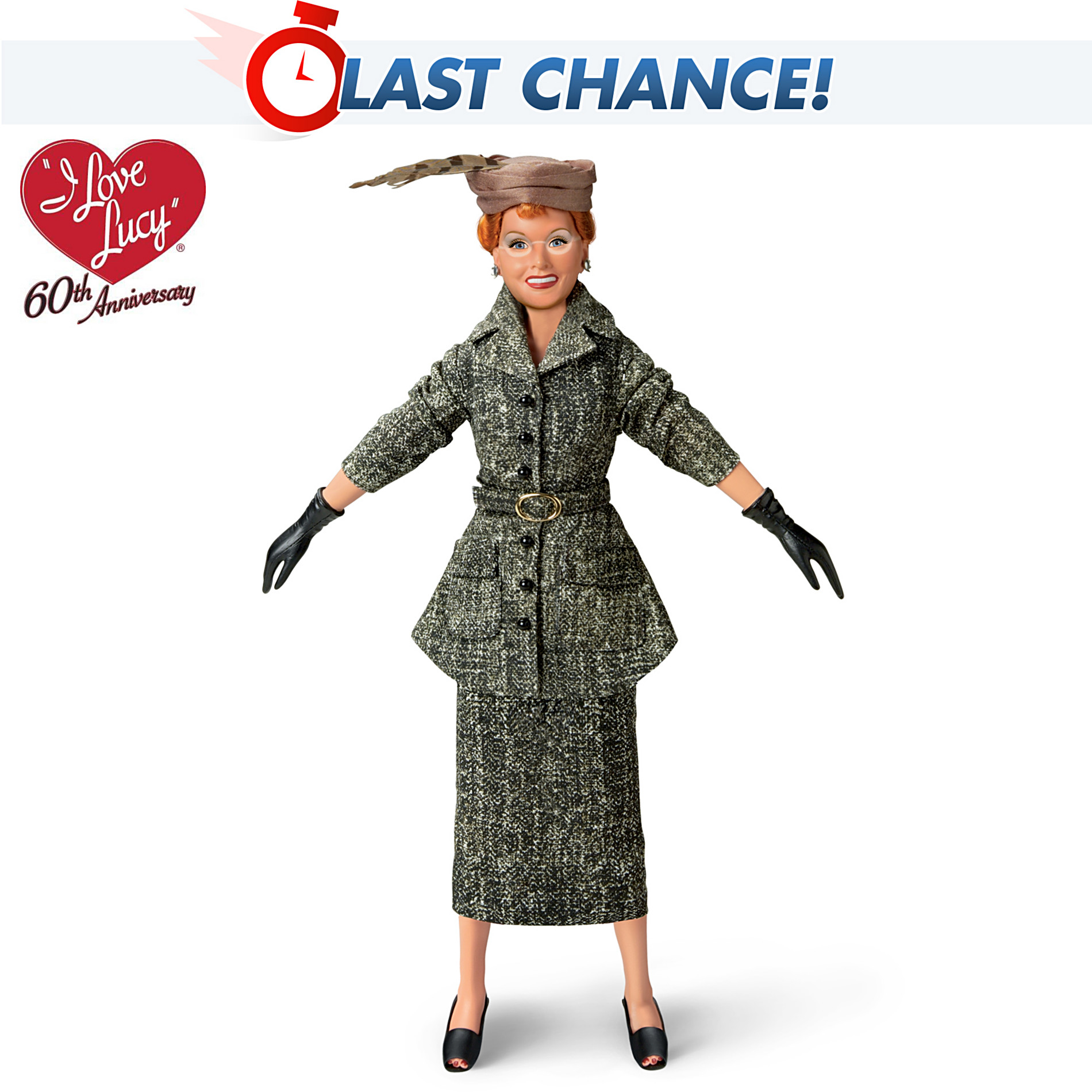 The Ashton-Drake Galleries I LOVE LUCY The Fashion Show Doll at Sears.com