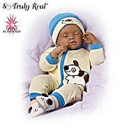 "The Ashton-Drake Galleries Marcus African-American ""Breathing"" Baby Boy Doll at Sears.com"