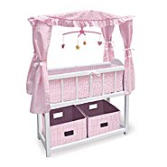 The Ashton-Drake Galleries Baby Doll Crib With Canopy Baby Doll Accessories at Sears.com
