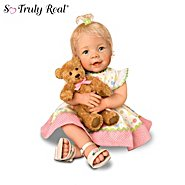 The Ashton-Drake Galleries So Truly Real Lifelike Baby Doll With A Recordable Bear: Beary Sweet Messages at Sears.com