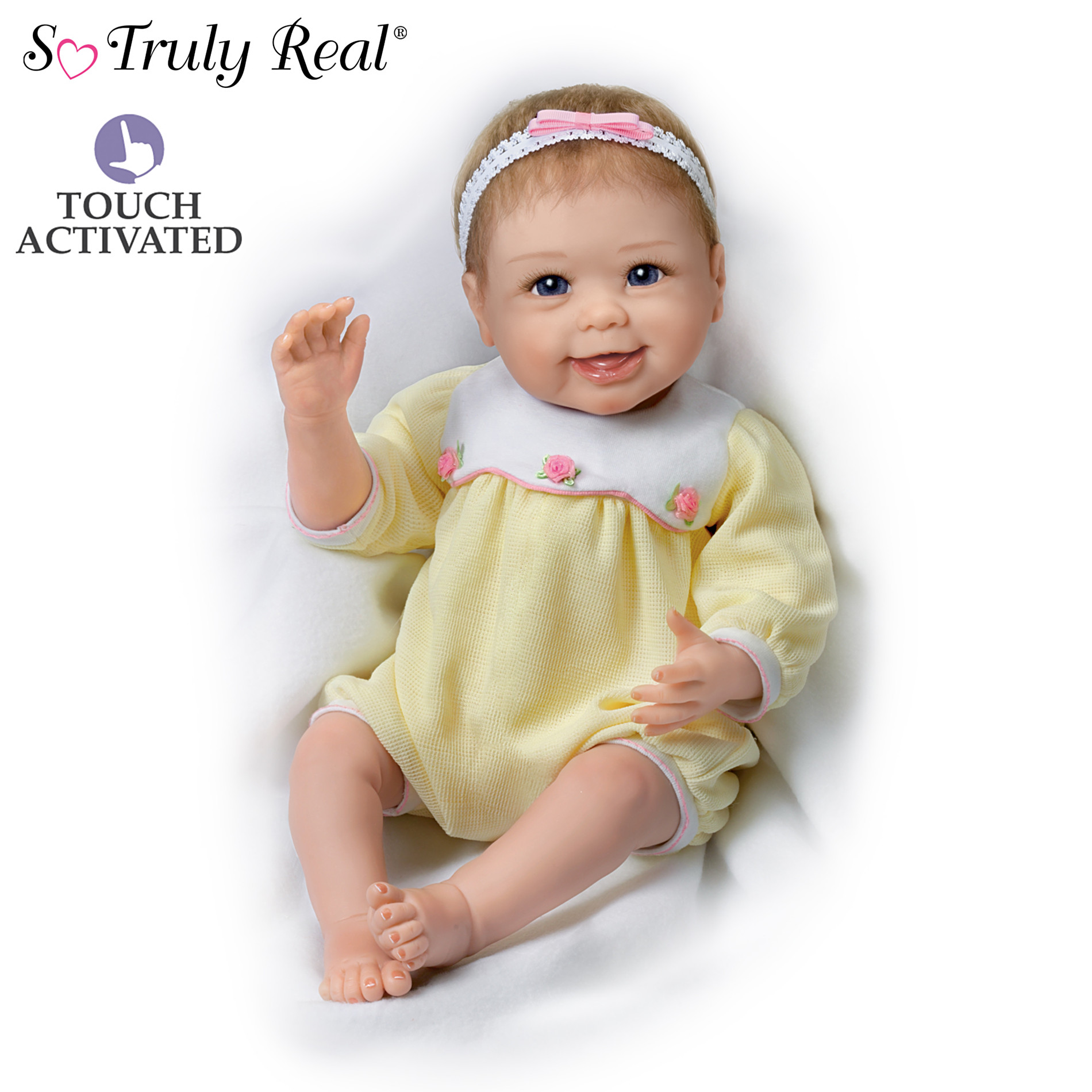 The Ashton-Drake Galleries Baby Doll: Hailey Waves Bye Bye Baby Doll at Sears.com