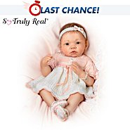 The Ashton-Drake Galleries So Truly Real Peaches And Cream Baby Girl Doll at Sears.com