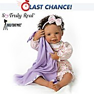 The Ashton Drake Galleries So Truly Real Pretty Little Peek-A-Boo Baby Doll at Sears.com