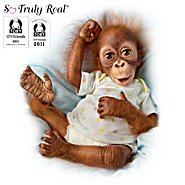 "The Ashton Drake Galleries Baby Babu: 16"" Collectible Orangutan Baby Doll at Sears.com"