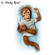 The Ashton Drake Galleries So Truly Real Orangutan Baby Doll: Baby Maha at Sears.com