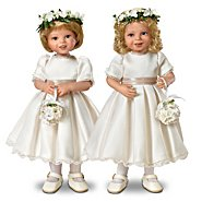 The Ashton Drake Galleries Dolls: Royal Flower Girls Child Doll Set at Sears.com
