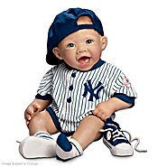 The Ashton Drake Galleries New York Yankees #1 Fan: 22-Inch Realistic Lifelike Baby Doll at Sears.com
