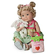 The Ashton Drake Galleries Granddaughter Child Doll: Grandma Is Somebunny To Love at Sears.com