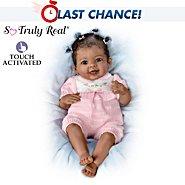 The Ashton Drake Galleries So Truly Real Interactive Baby Doll: Taylor's Ticklish Tootsies at Sears.com