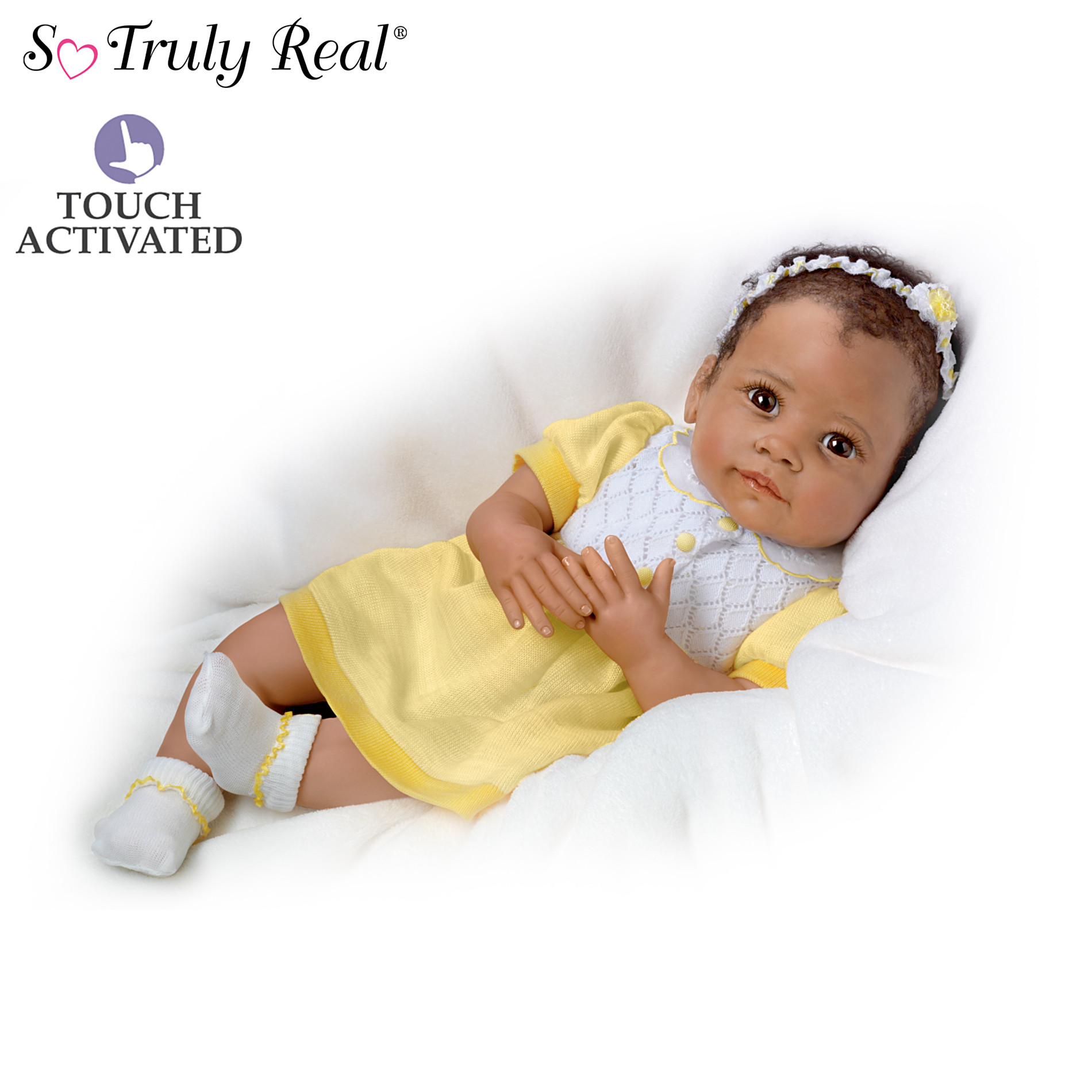 The Ashton-Drake Galleries Baby Doll: Ava's Look Of Love at Sears.com
