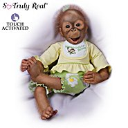 The Ashton Drake Galleries Doll: Lola's Look Of Joy Monkey Doll at Sears.com