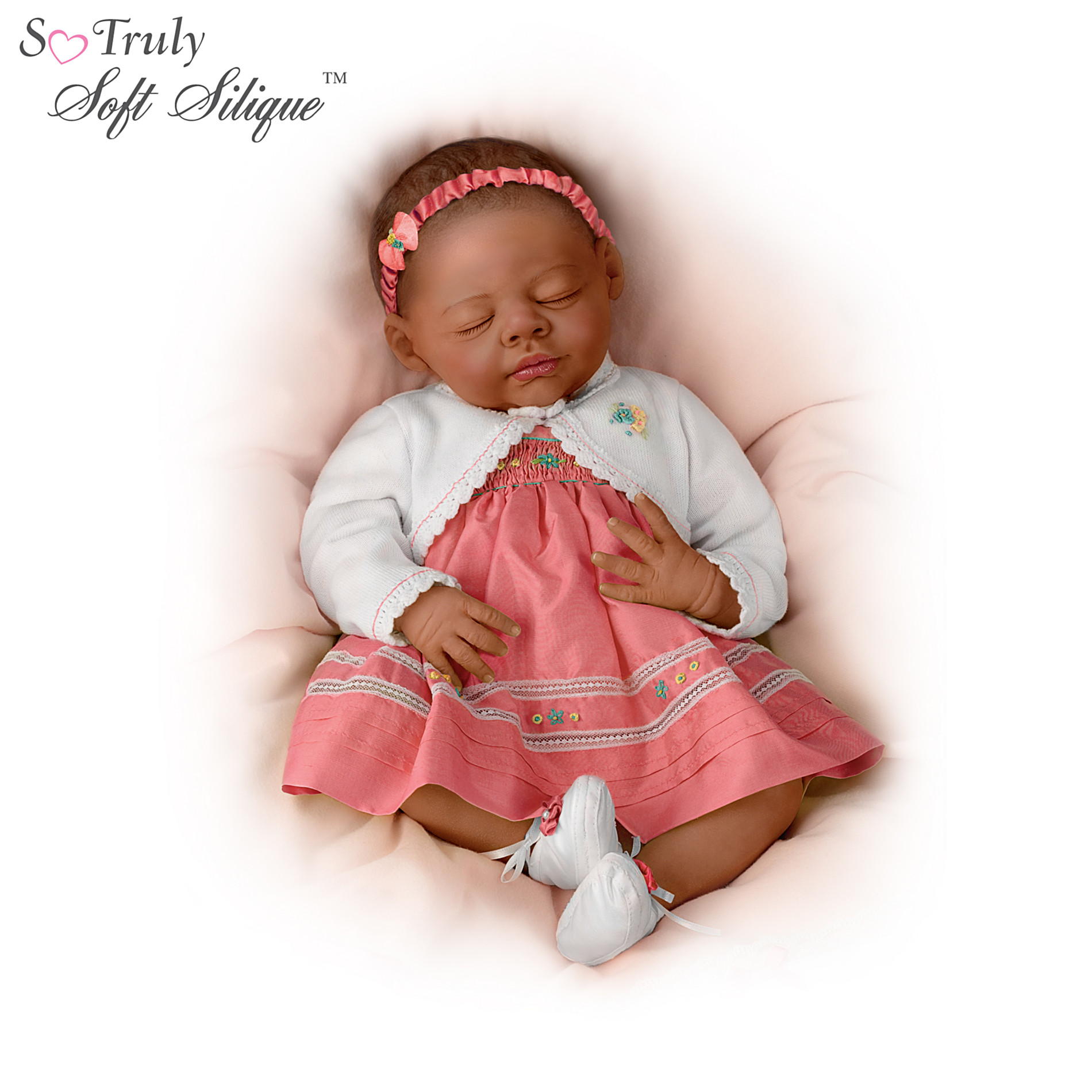 The Ashton-Drake Galleries Realistic African-American Baby Doll: Beautiful Beyonce at Sears.com