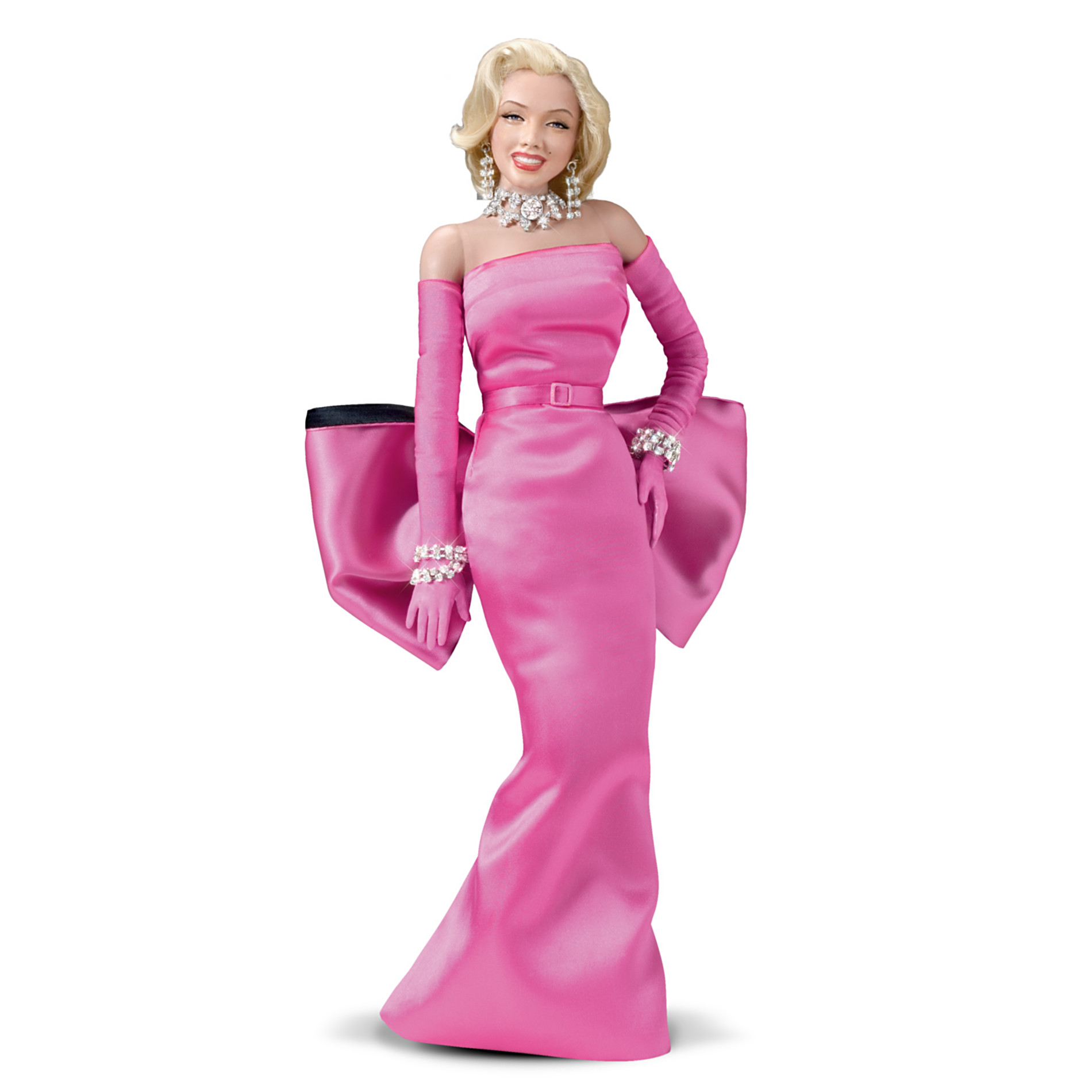 The Ashton-Drake Galleries Marilyn Monroe Fashion Doll: Diamonds Are A Girl's Best Friend at Sears.com