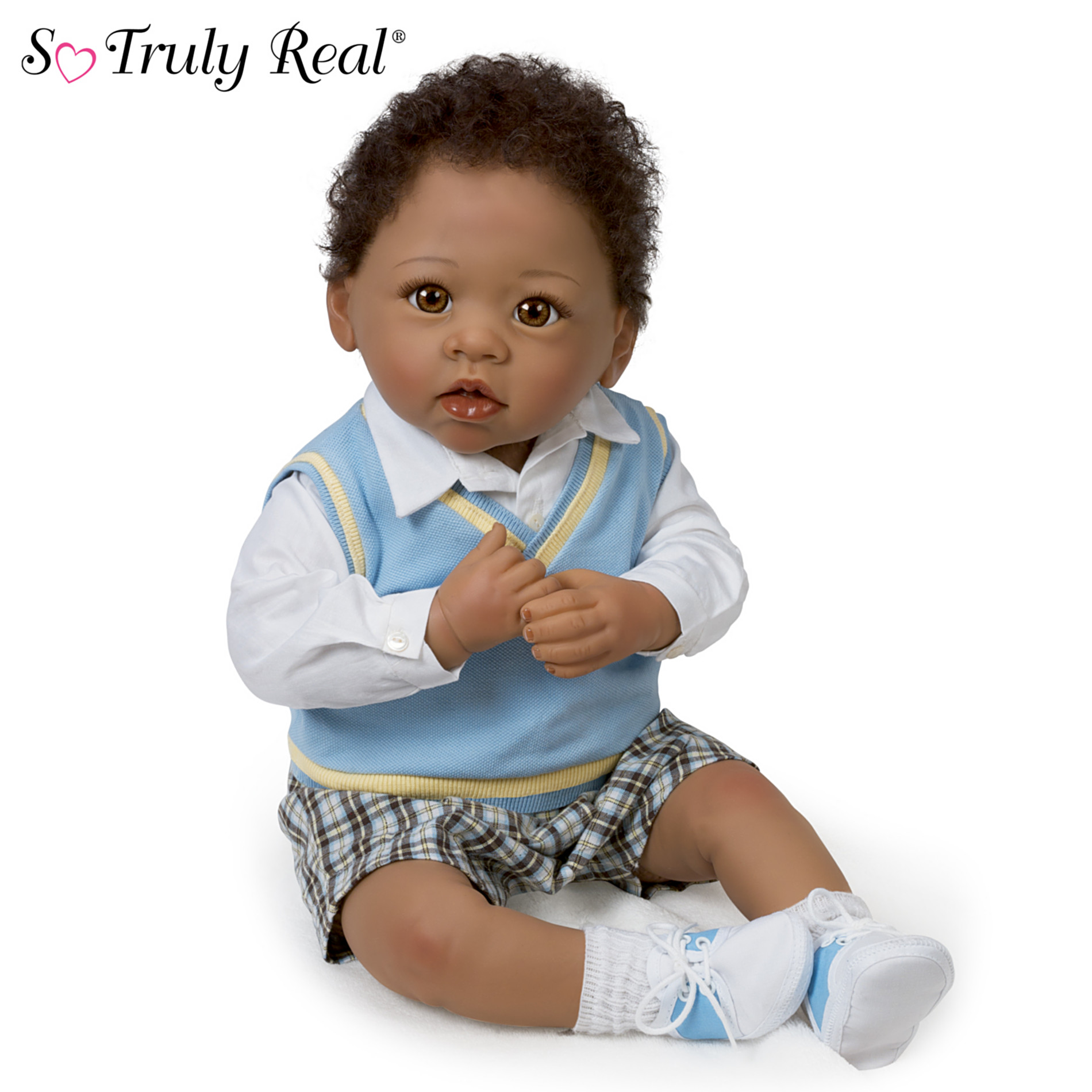 The Ashton Drake Galleries Baby Doll: Michael, I Love You To The Moon And Back Baby Doll at Sears.com