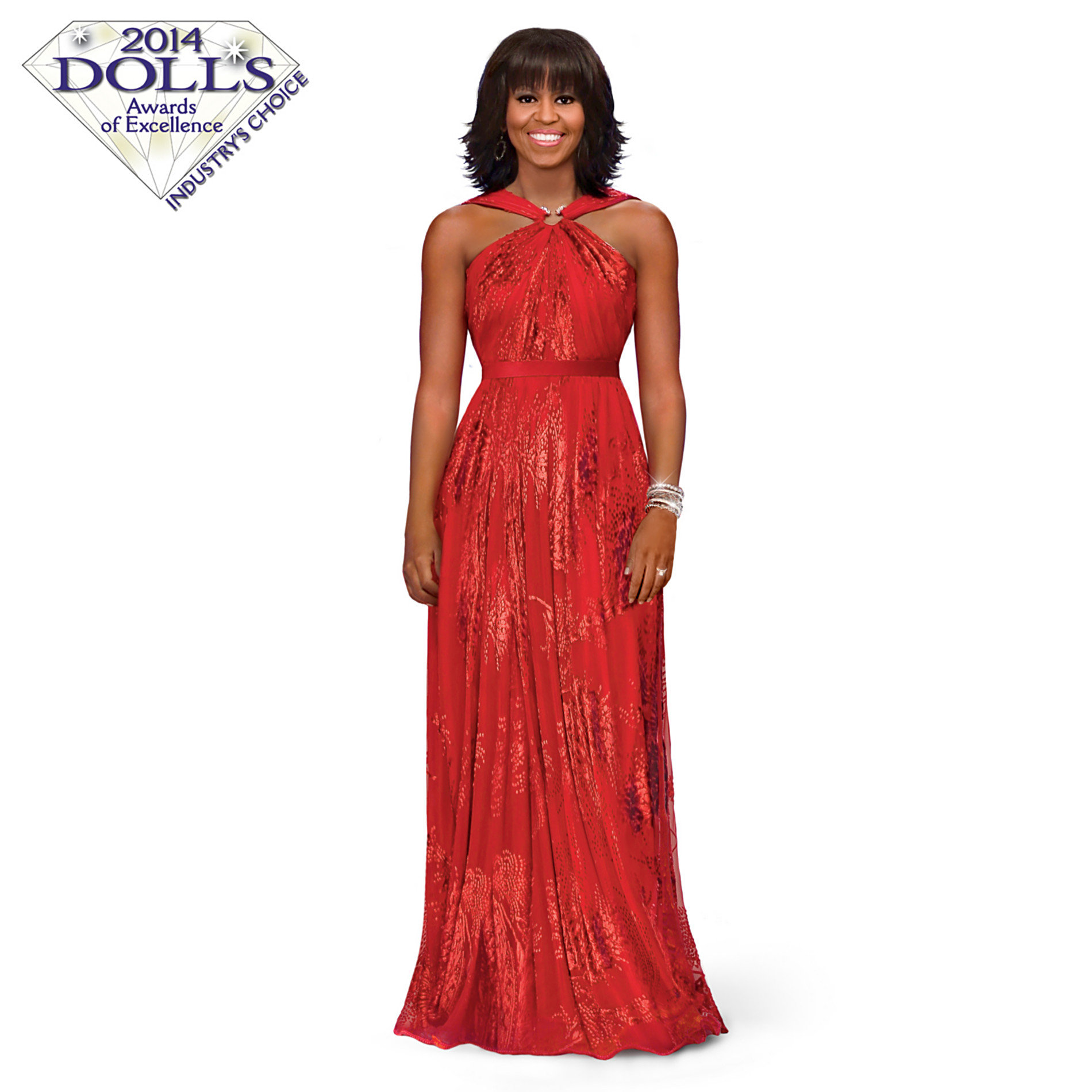 The Ashton-Drake Galleries Michelle Obama Fashion Doll: Inaugural Ball at Sears.com