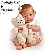 The Ashton Drake Galleries Baby Doll: I Promise To Love You, Teddy Hold That Pose Baby Doll at Sears.com