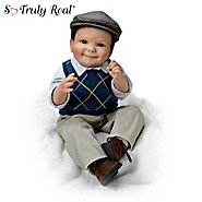 The Ashton Drake Galleries Cheryl Hill I Love You To The Moon And Back Matthew Baby Boy Doll at Sears.com