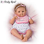 The Ashton Drake Galleries Daddy's Little Girl So Truly Real Lifelike Baby Doll By Sherry Rawn at Sears.com
