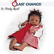 The Ashton-Drake Galleries Waltraud Hanl Baby Jasmine Goes To Grandma's So Truly Real Baby Doll at Sears.com