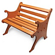 The Ashton-Drake Galleries Wooden Bench Doll Accessory at Sears.com