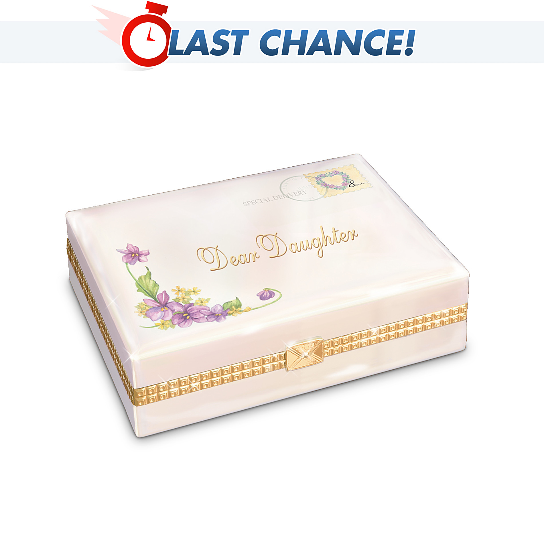Ardleigh Elliott Dear Daughter Collectible Porcelain Music Box Gift For Daughter at Sears.com