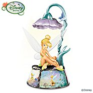The Bradford Exchange Disney Tinker Bell's Magic Musical Table Lamp at Sears.com