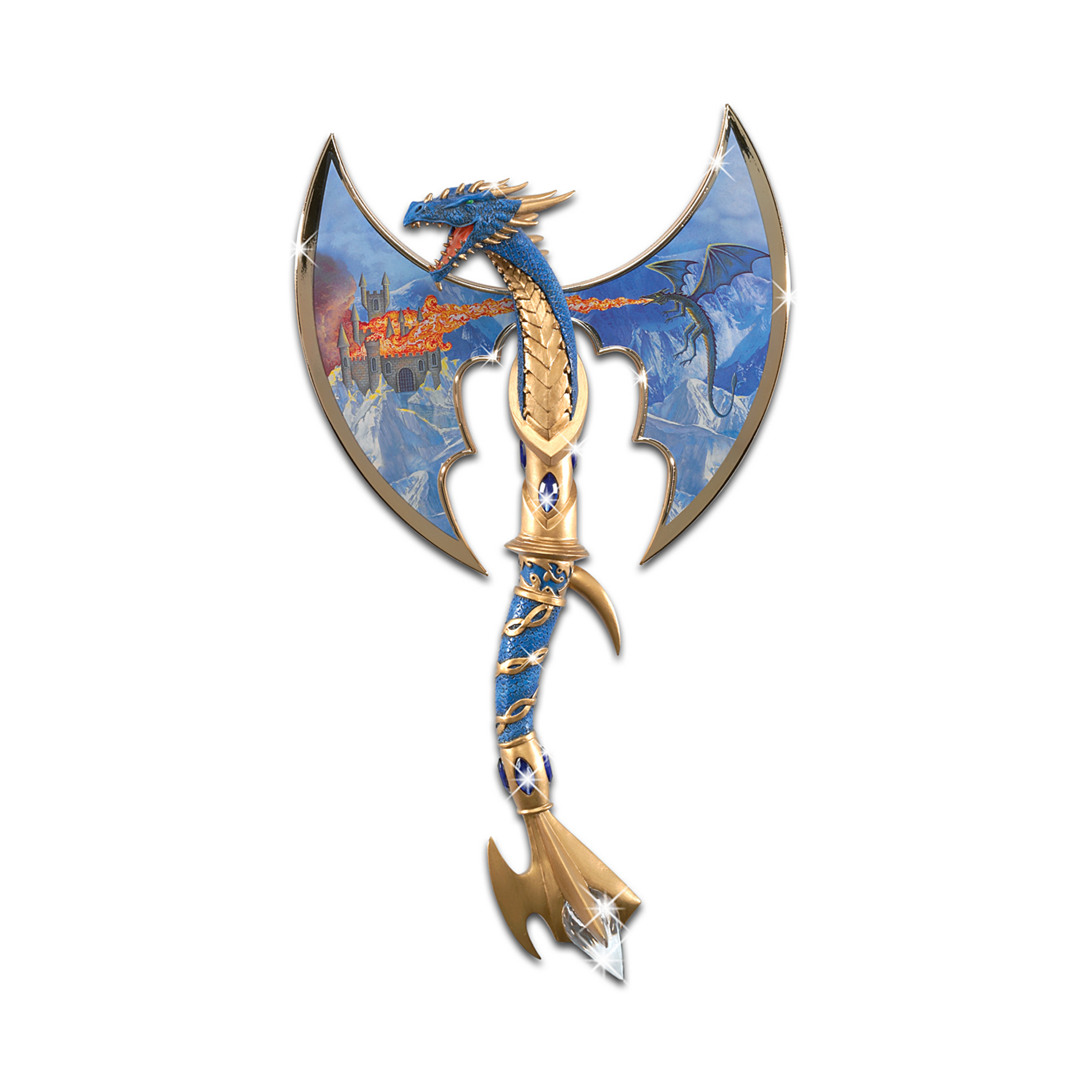 The Hamilton Collection Dragon Battle Axe Wall Decor: Icy Torment at Sears.com