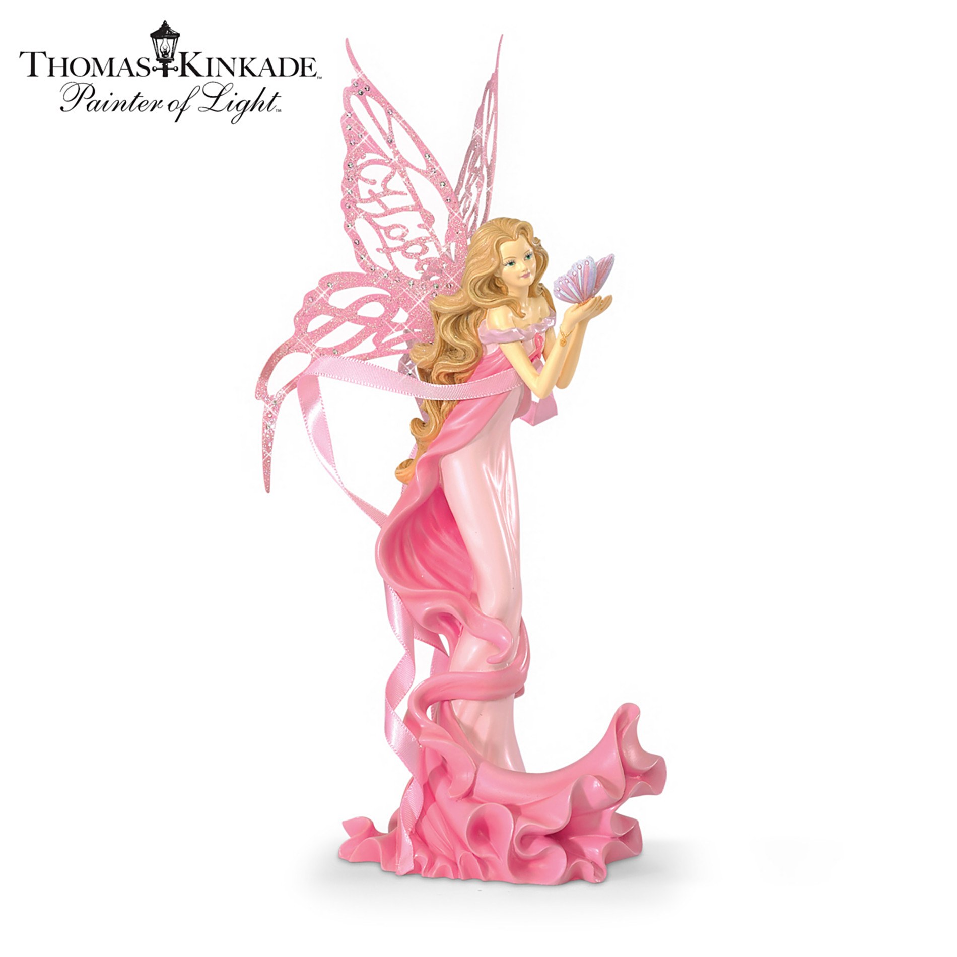 The Hamilton Collection Hope Angel Figurine: Breast Cancer Hope Gift at Sears.com