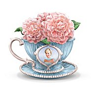 The Hamilton Collection Princess Diana Tribute Teacup Figurine: England's Rose at Sears.com