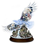 The Hamilton Collection Together We Stand, United We Soar Eagle Figurine at Sears.com
