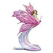 The Hamilton Collection Hope Fairy Figurine: Breast Cancer Awareness at Sears.com
