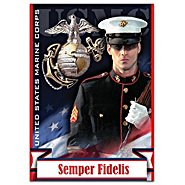 The Hamilton Collection United States Marine Corps Semper Fidelis Flag at Sears.com