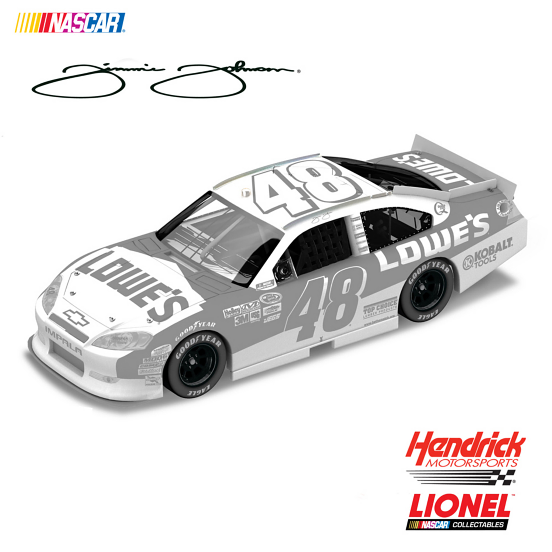 The Hamilton Collection NASCAR Jimmie Johnson No. 48 Lowe???s Ice 2011 Diecast Car at Sears.com