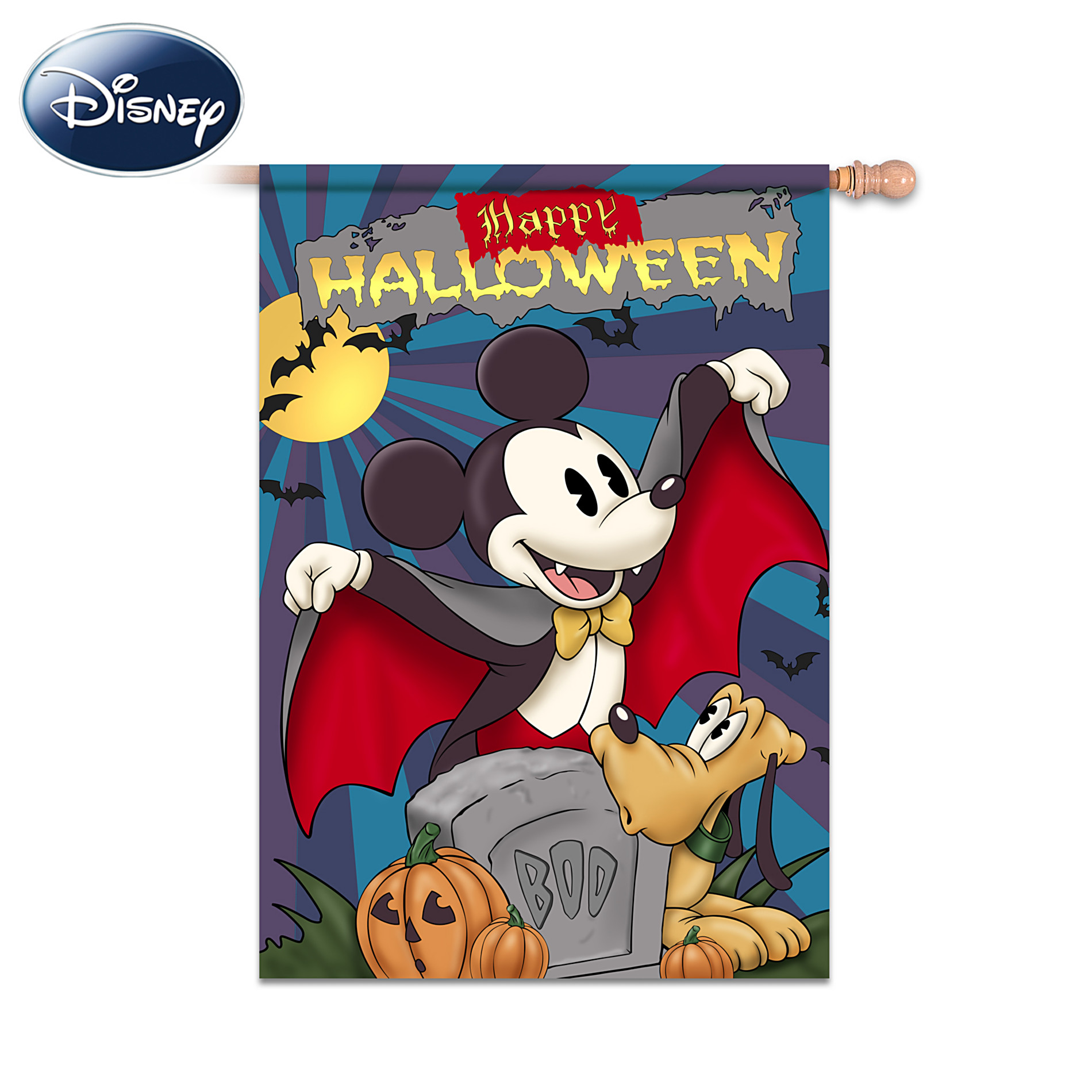 The Hamilton Collection Disney Happy Halloween Flag at Sears.com