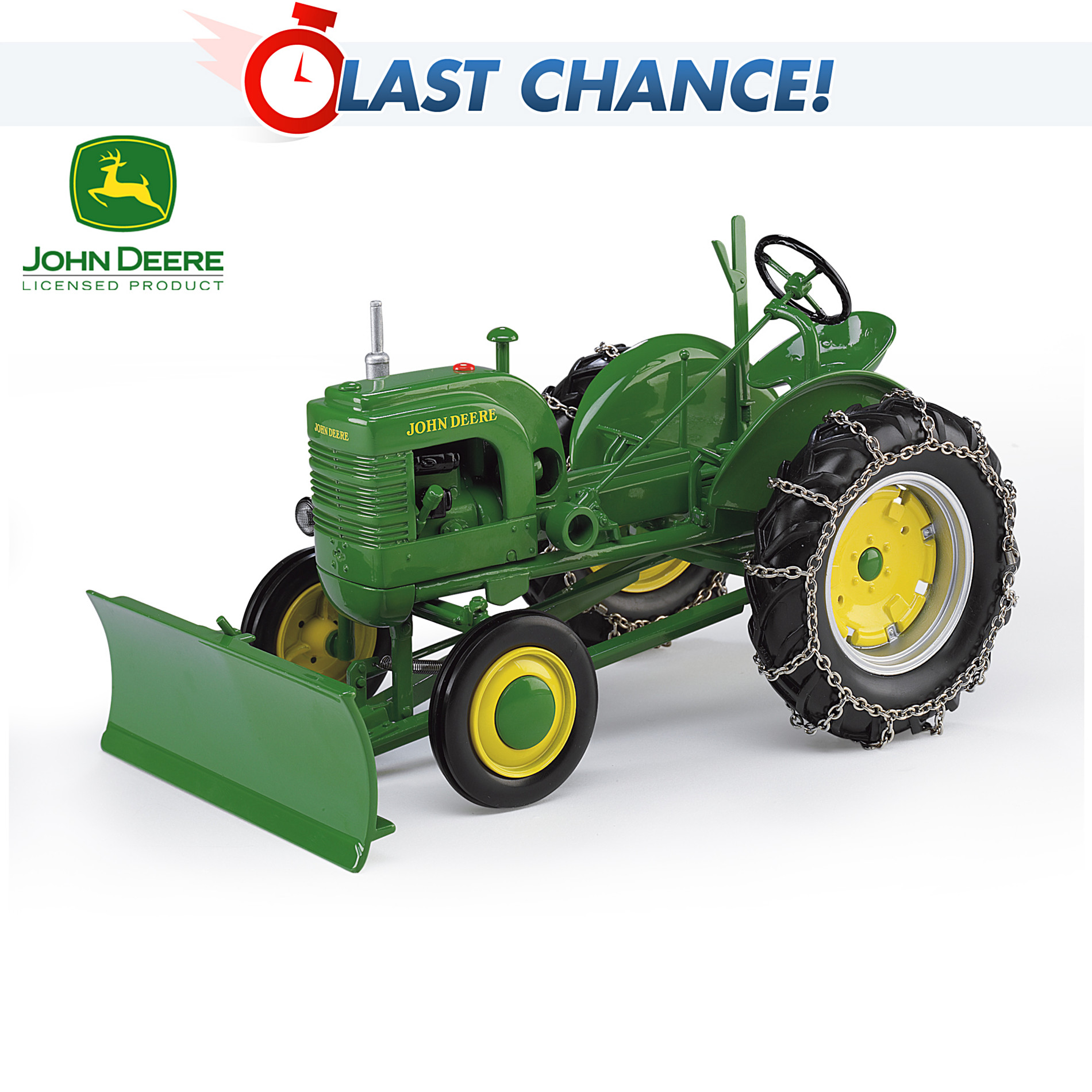 The Hamilton Collection The John Deere Model LA SpecCast Diecast Replica Tractor at Sears.com
