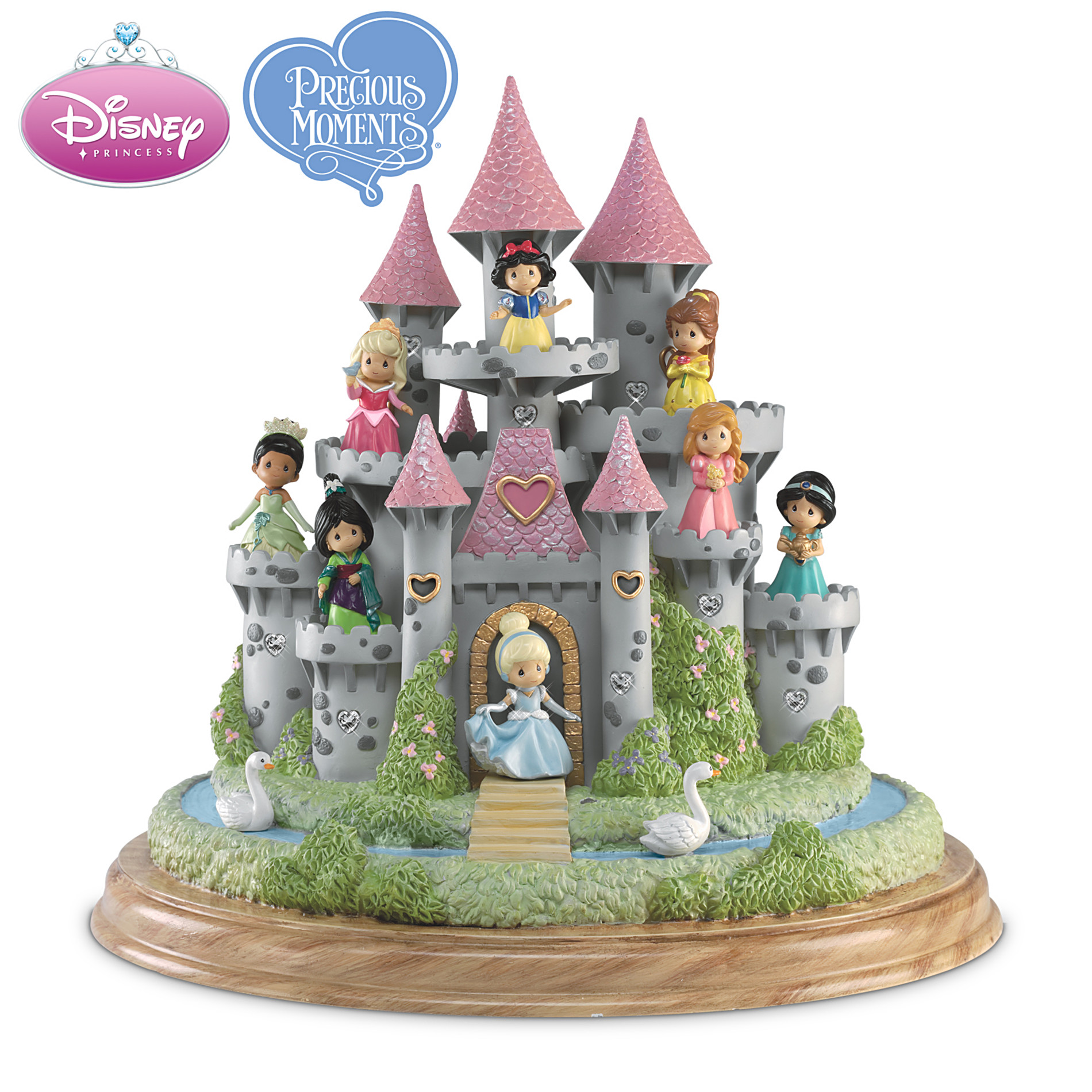 The Hamilton Collection Precious Moments Ultimate Disney Princess Castle Sculpture at Sears.com