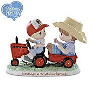 The Hamilton Collection Figurine: Precious Moments Everything Is A-OK With You By My Side Farmall Figurine at Sears.com