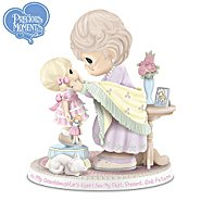 The Hamilton Collection Precious Moments Figurine: In My Granddaughter's Eyes I See My Past, Present, And Future at Sears.com