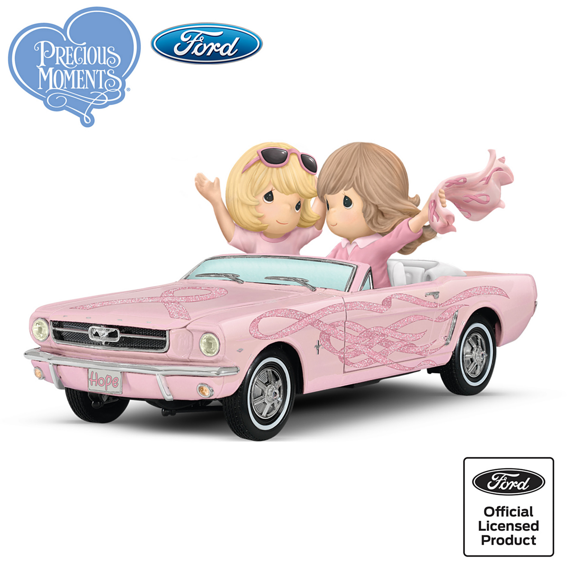 The Hamilton Collection Ford Precious Moments Figurine: On The Road To A Cure at Sears.com