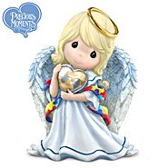 The Hamilton Collection Figurine: Precious Moments Angel Of Caring Figurine at Sears.com