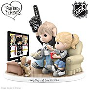 The Hamilton Collection Figurine: Precious Moments Every Day Is A Goal With You Los Angeles Kings® Figurine at Sears.com