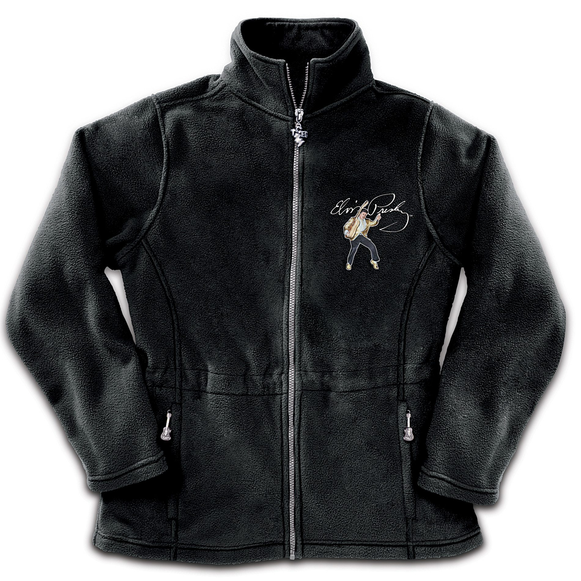 The Bradford Exchange Elvis: Dressed To Thrill Women's Fleece Jacket at Sears.com