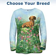 The Bradford Exchange Doggie Dreams Women's Shirt: Available In Multiple Breeds at Sears.com