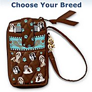 The Bradford Exchange Loving Companion Dog-Themed Cell Phone And Card Holder Wristlet at Sears.com
