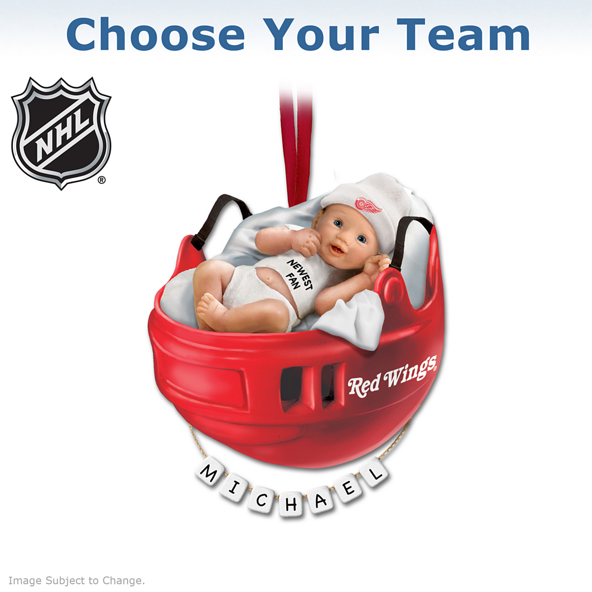 Hawthorne Village NHL® Baby's First Ornament at Sears.com