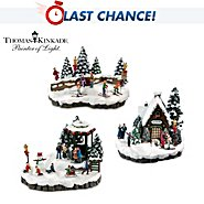 Hawthorne Village Village Accessory Set: Thomas Kinkade Mistletoe Mountain at Sears.com