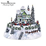 Hawthorne Village Thomas Kinkade Village Accessory: The Snowflake Bed And Breakfast at Sears.com