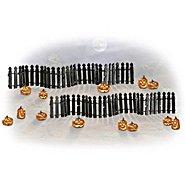 Hawthorne Village Rickety Fence And Spooky Jack o' Lantern Halloween Village Accessory Set at Sears.com